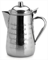 etched coffee pot
