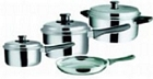 seven piece cookware set